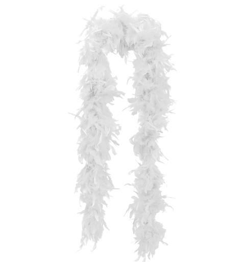 Boa  Blanca de 150 cm
