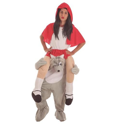 Disfraz Lobo con Caperucita...