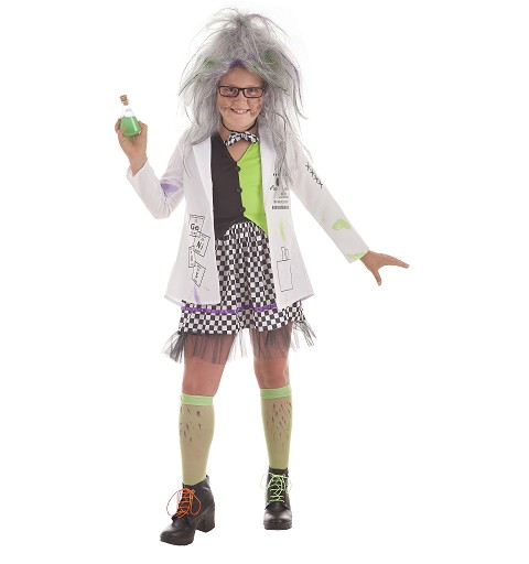 Disfraz Científica Loca...