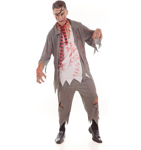 Disfraz Zombie School Adulto