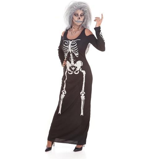 Disfraz Vestido Skelet Sexy...