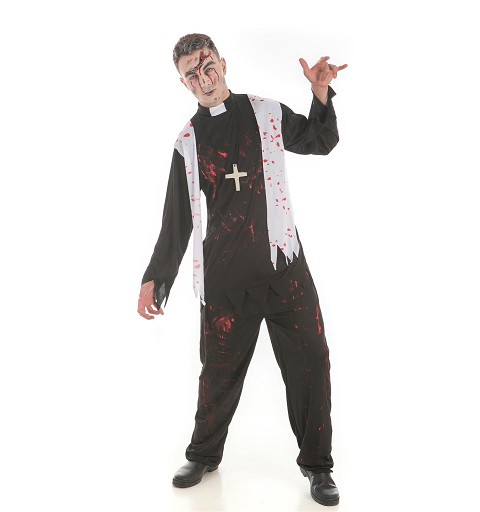Disfraz Cura Zombie Adulto