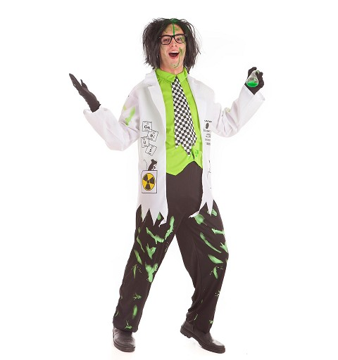 Disfraz Científico Loco Adulto
