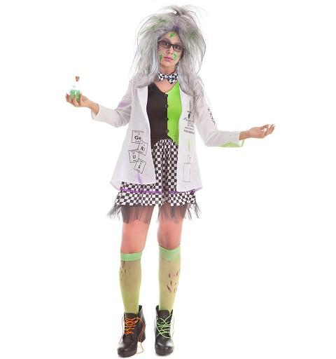 Disfraz de Científica Loca...