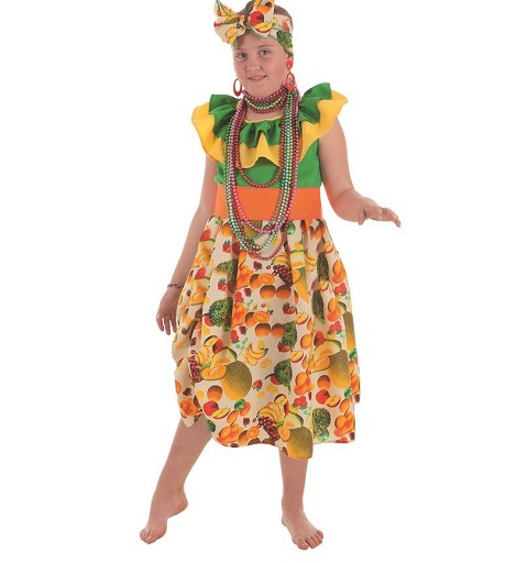 Disfraz de Cubana Frutas...