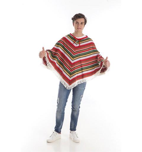 Disfraz de Mexicano Poncho...