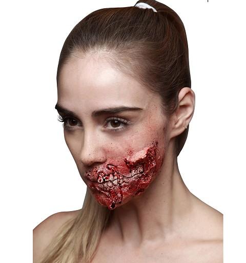 Cicatriz de Zombie Boca