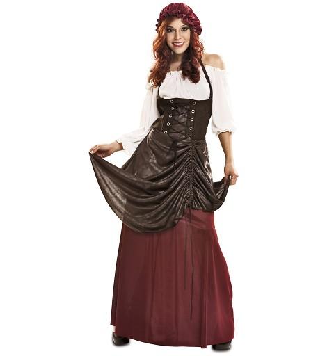 Disfraz de Tabernera Mujer