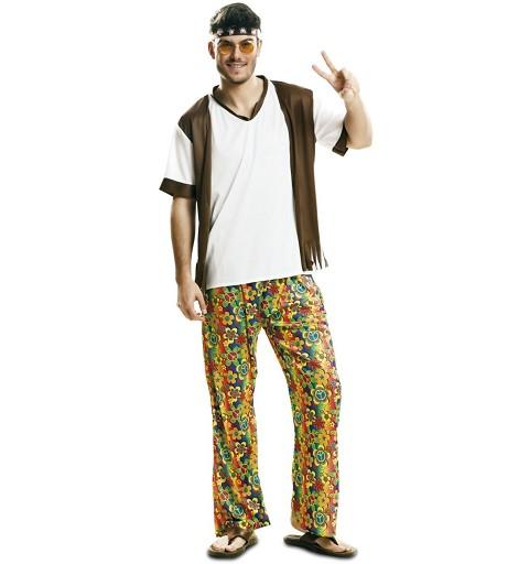 Disfraz de Happy Hippie Chico
