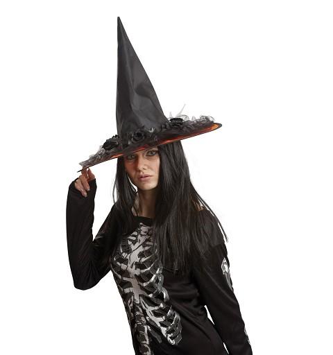 Sombrero de Bruja Negro con...
