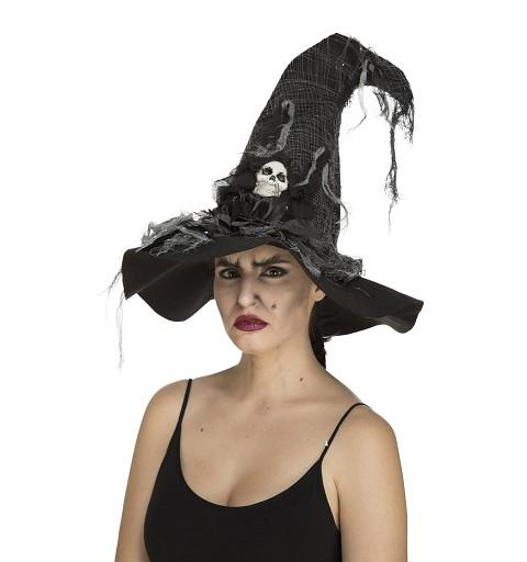 Sombrero De Bruja Calavera...