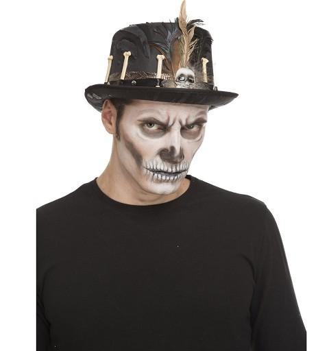 Chistera baja Voodoo Plumas...