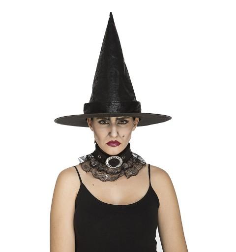 Sombrero De Bruja con Brillo