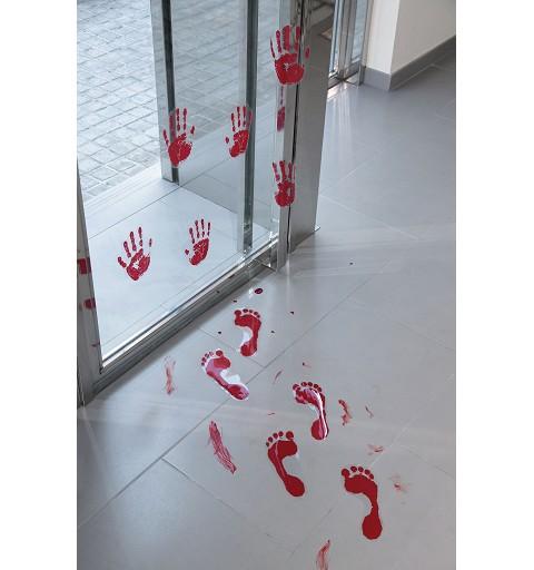 Pisadas Sangre 33 cm