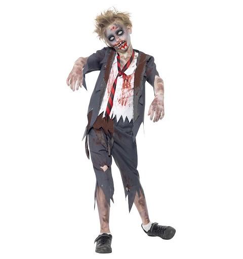 Disfraz de Zombie Colegial...