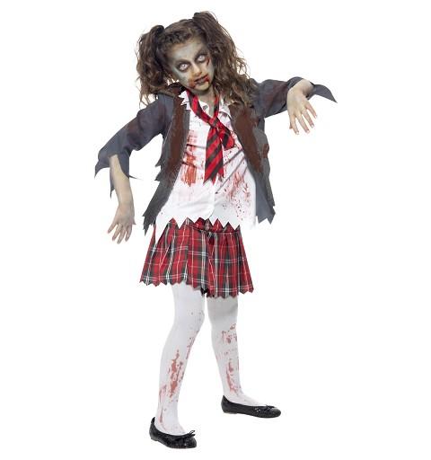 Disfraz de Zombie Colegiala...