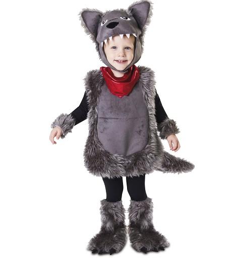 Disfraz de Pequeño Lobo Bebé