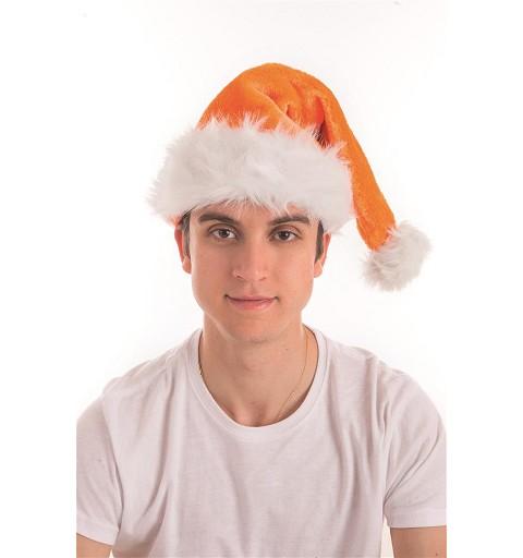 Gorro de Papá Noel Naranja...