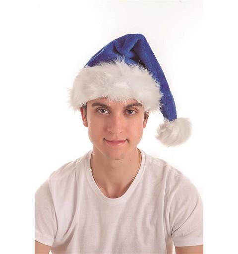 Gorro de Papá Noel Azulón...