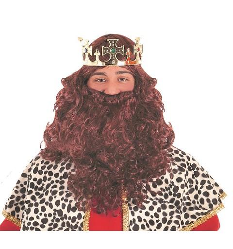 Peluca y Barba de Rey Mago...