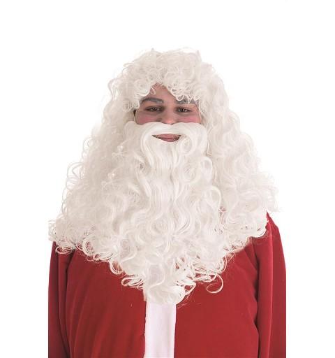 Peluca y Barba de Papá Noel...