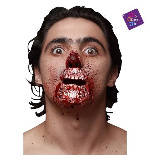 Cicatriz Zombie Latex
