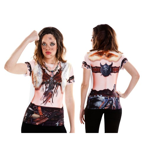 Camiseta de Viking Girl Adulto