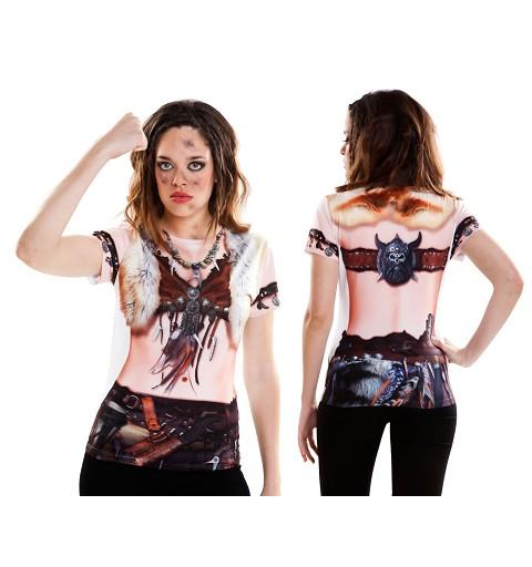 Camiseta Viking Girl Adulto