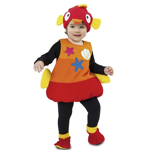 Disfraz de Pez para Niños y...