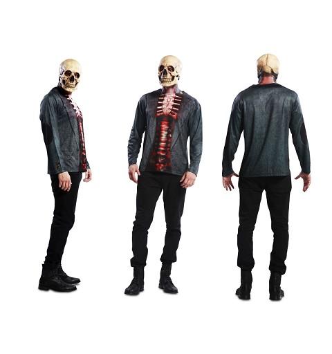 Camiseta Skeleton Adulto