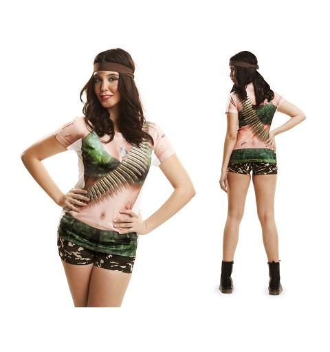 Camiseta Warrior Girl Adulto