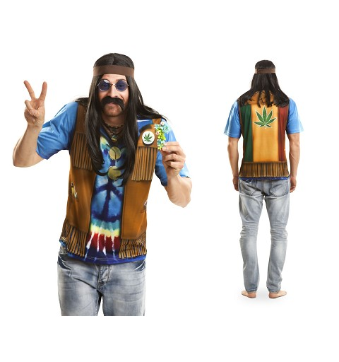 Camiseta Hippie Adulto