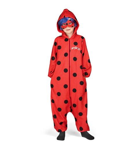 Disfraz Ladybug Pijama Niña