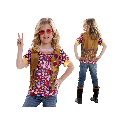 Camiseta Hippie Girl Infantil