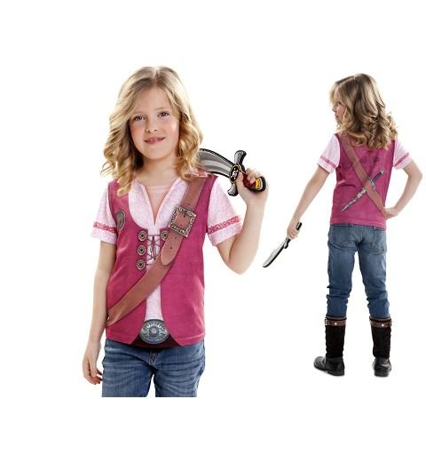 Camiseta Pirate Girl Infantil
