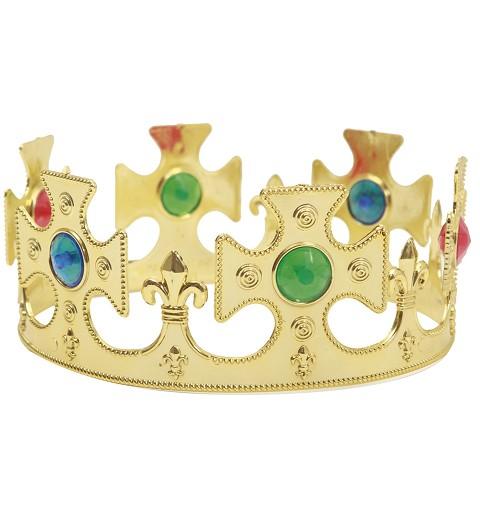 Corona de Rey Dorada para...
