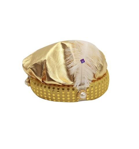 Sombrero de Paje Dorado y...