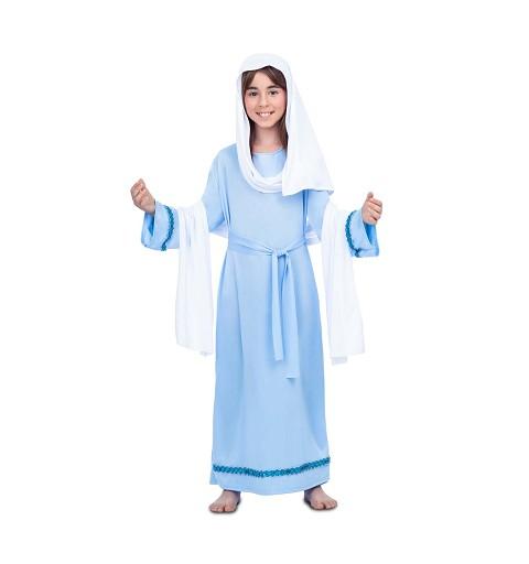 Disfraz de Virgen María...