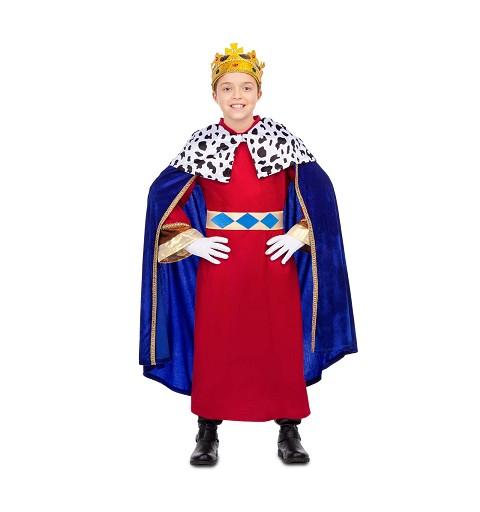 Disfraz de Rey Mago Azul...