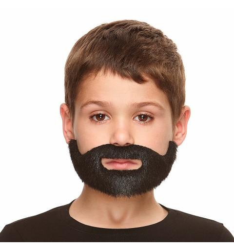 Barba Completa Negra para...