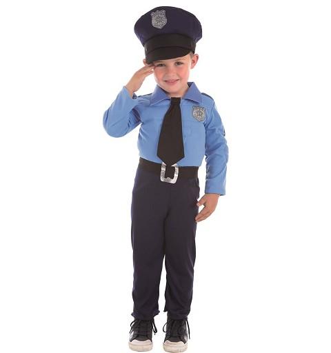 Disfraz de Policía Músculos...