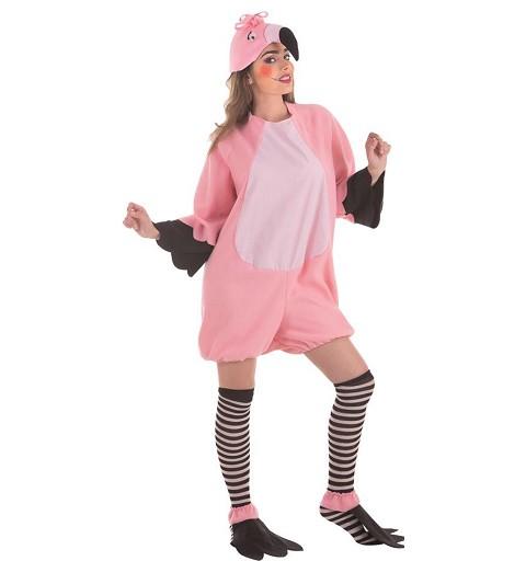 Disfraz de Flamingo para Mujer