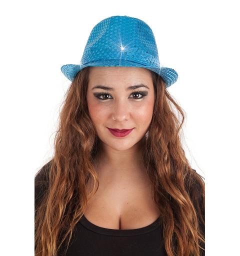 Sombrero de  Lentejuelas Luces