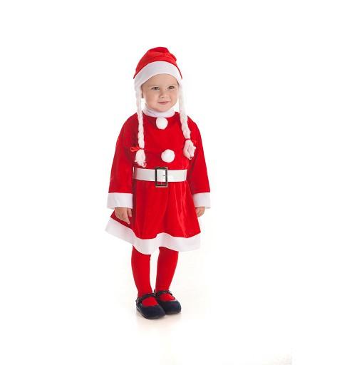 Disfraz de Mamá Noel...