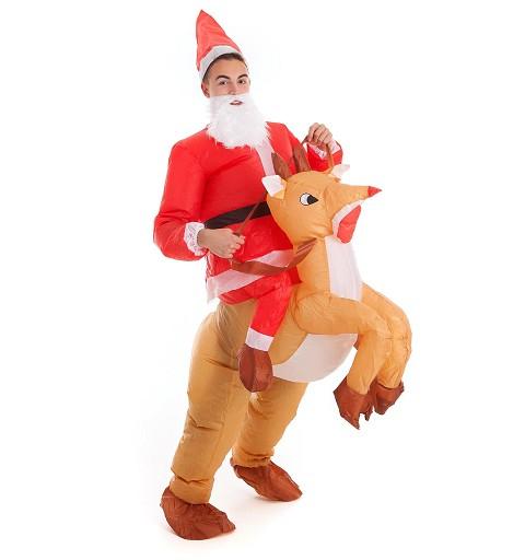 Disfraz de Papá Noel- Reno...