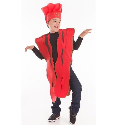 Disfraz de Bacon para Niños