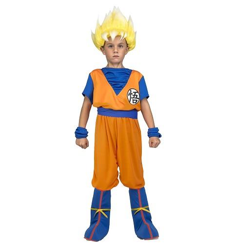 Disfraz de Saiyan Goku para...
