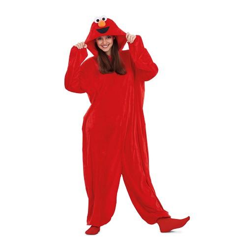 Disfraz Pijama Elmo Barrio...