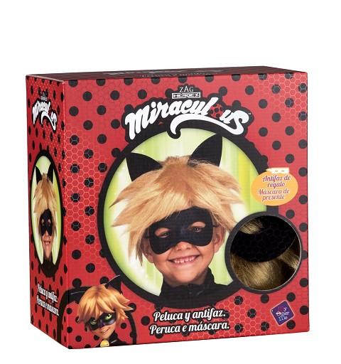 Peluca Cat Noir para Niños...