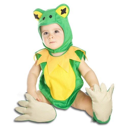 Disfraz de Ranita para Bebés